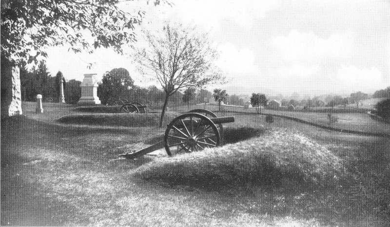 Cemetery Hill Gettysburg Pennsylvania