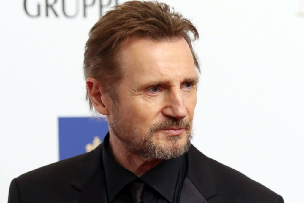 Liam Neeson Best Option as a Celebrity Spokesman