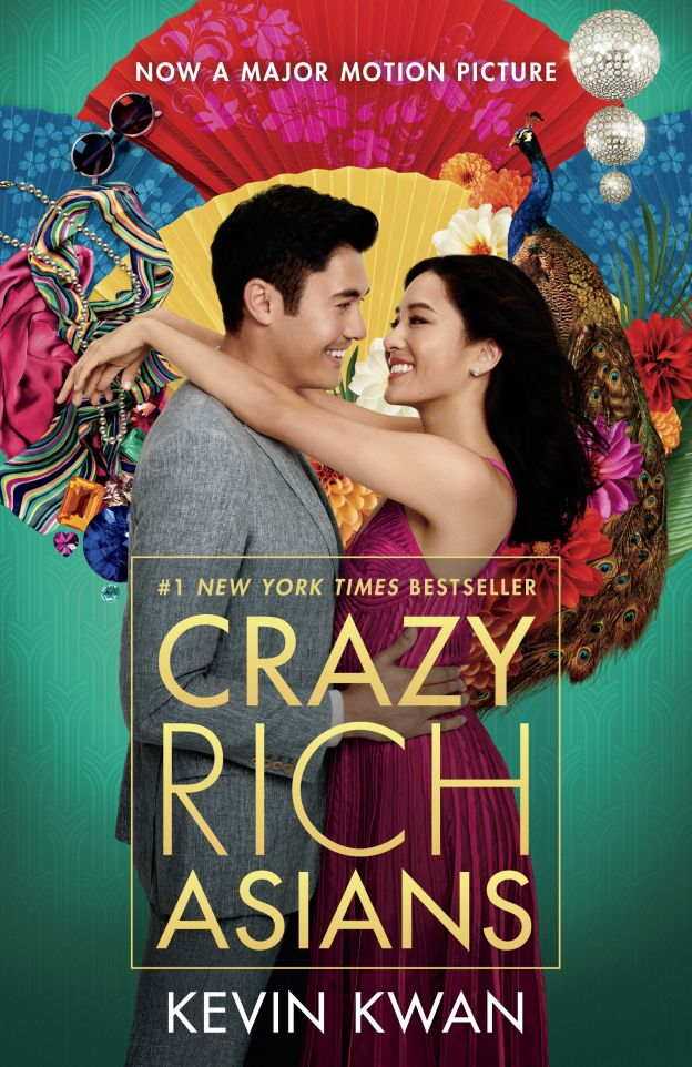 3. Crazy Rich Asians by Kevin Kwan