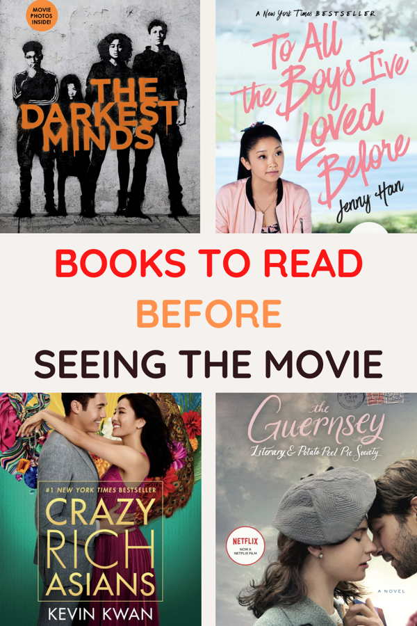 Books To Read Before Seeing The Movie