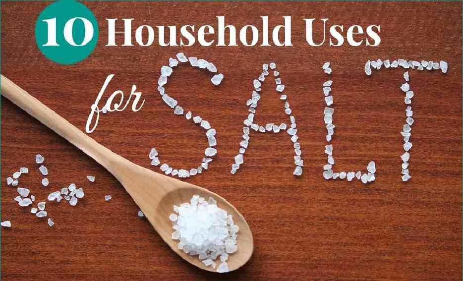 Household Uses For Salt