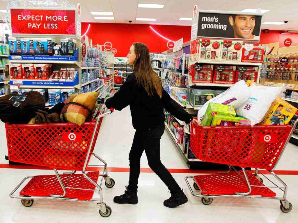 Spending on Track at Target