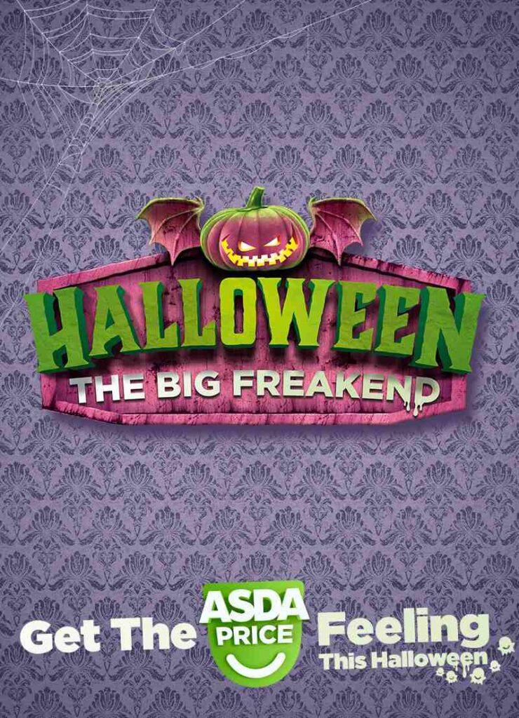 ASDA card halloween